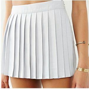 SILENCE + NOISE Skirt Skort Pleated Mini Skirt